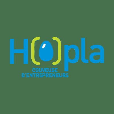 logo hopla couveuse entreprise