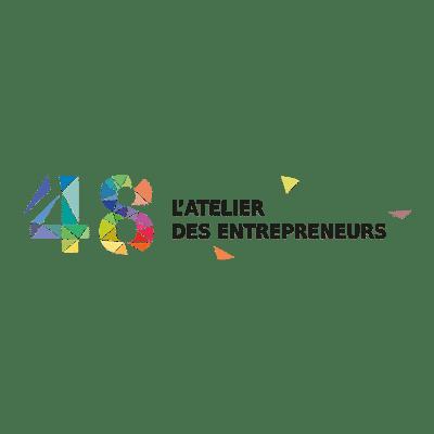 logo association 48 atelier entrepreneurs